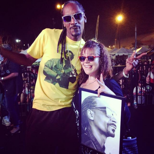 With Snoop Dogg